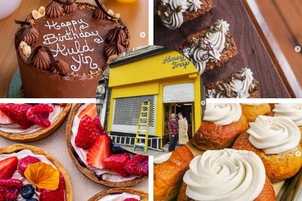 Interview with owners of Glasgow vegan bakery Honeytrap