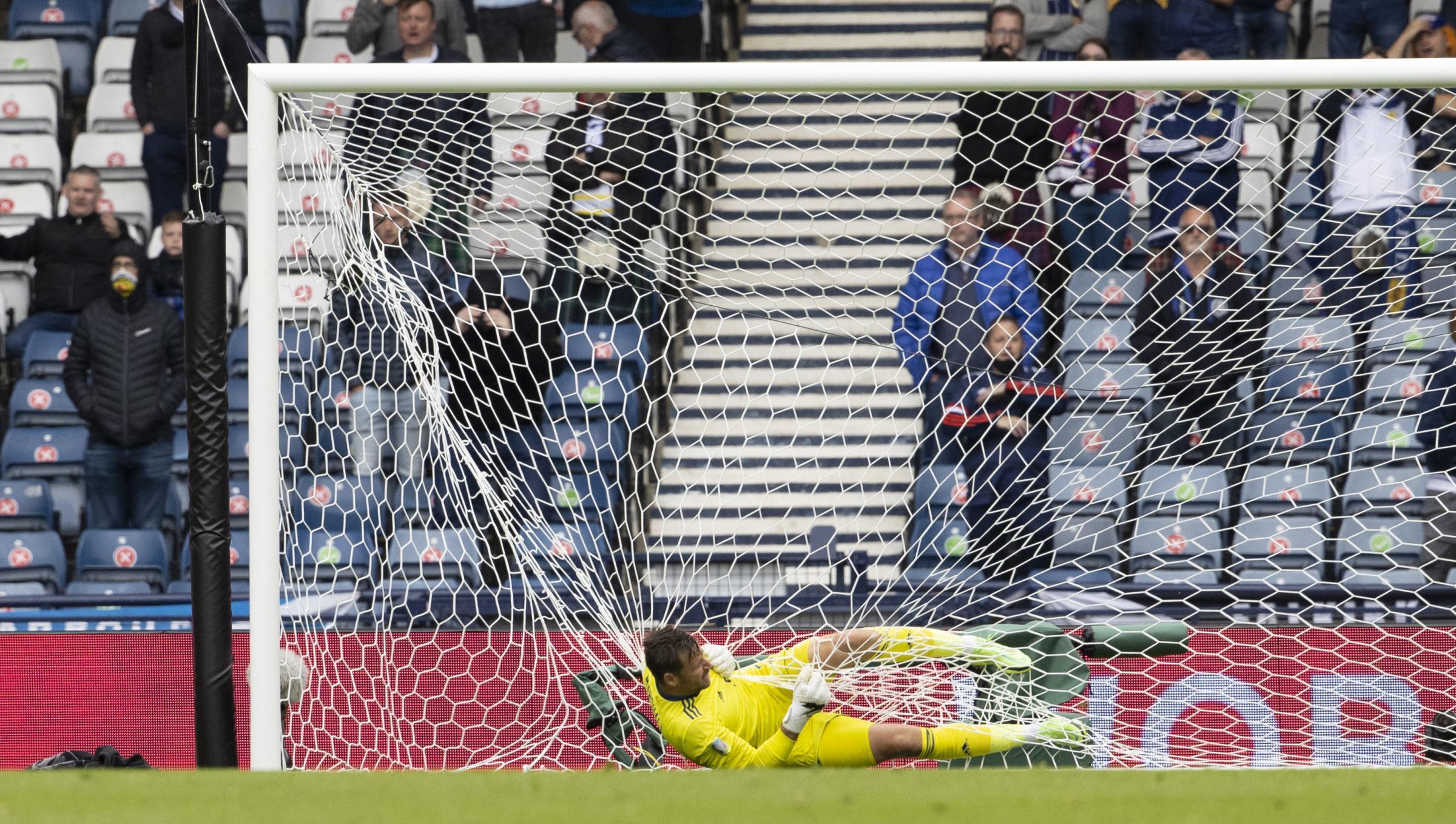 England captain Harry Kane in David Marshall warning ahead of Scotland clash