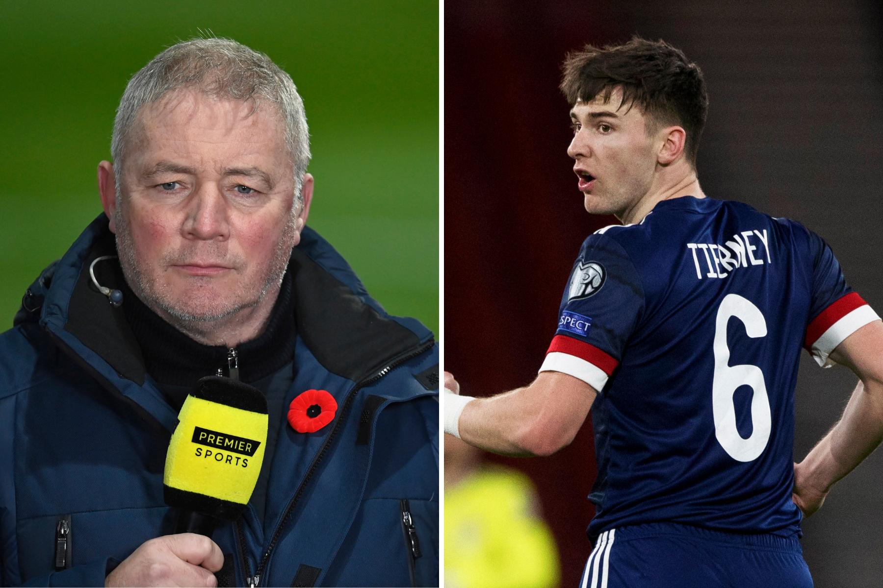 Rangers hero Ally McCoist shuts down talkSPORT pundit over startling Kieran Tierney injury claim