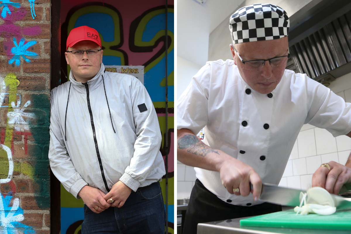 Maryhill youth worker reveals how he switched from crime to the kitchen