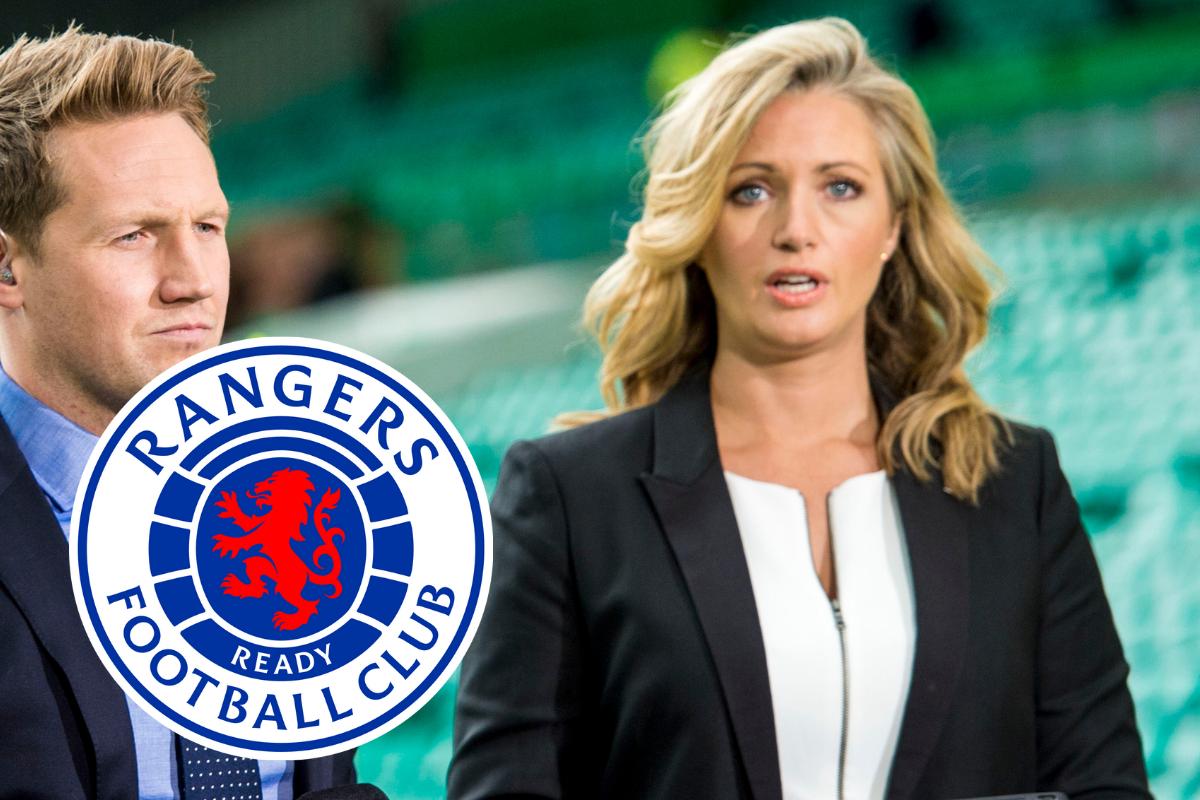 Hayley McQueen denies being Rangers fan after Celtic backlash