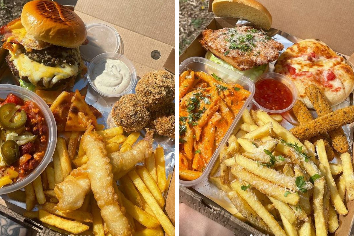 Bangin Boxes: Glasgow eatery release Scottish-themed meal as part of Euro celebrations