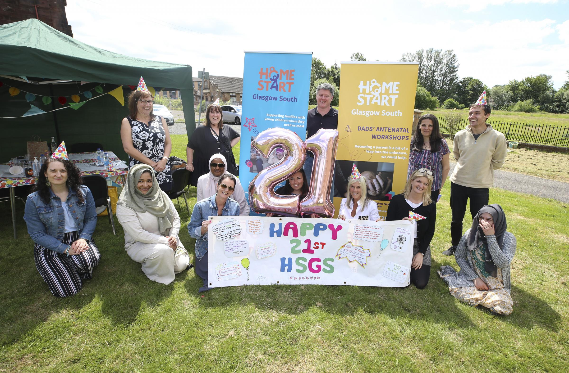 Home Start Glasgow South celebrate 21 years in the community