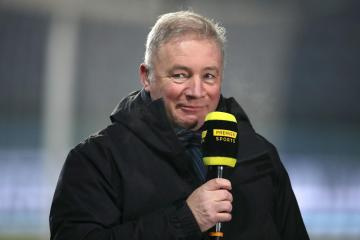 Rangers hero Ally McCoist fires cheeky dig at Celtic ahead of Real Betis showdown