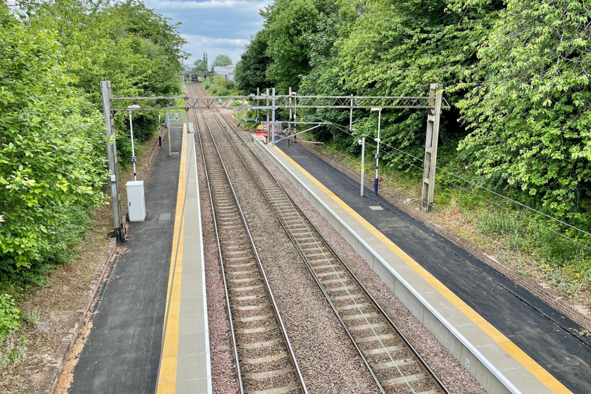 Glasgow's Garrowhill train station reopens after major upgrade