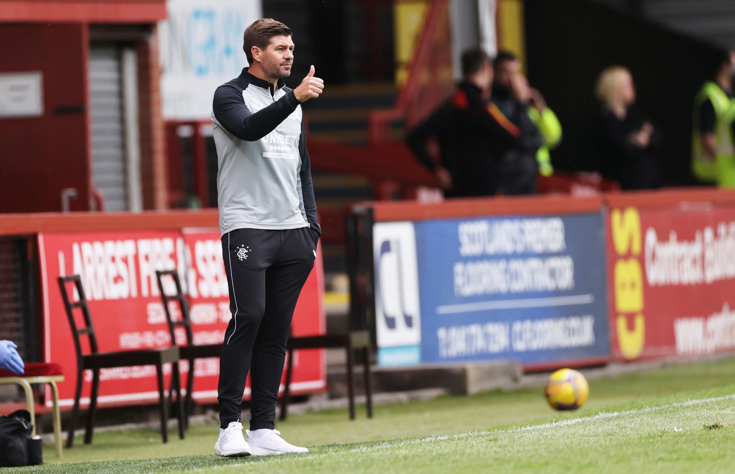 Alex McLeish: Steven Gerrard will have Rangers focused on 56 after Premiership title celebrations