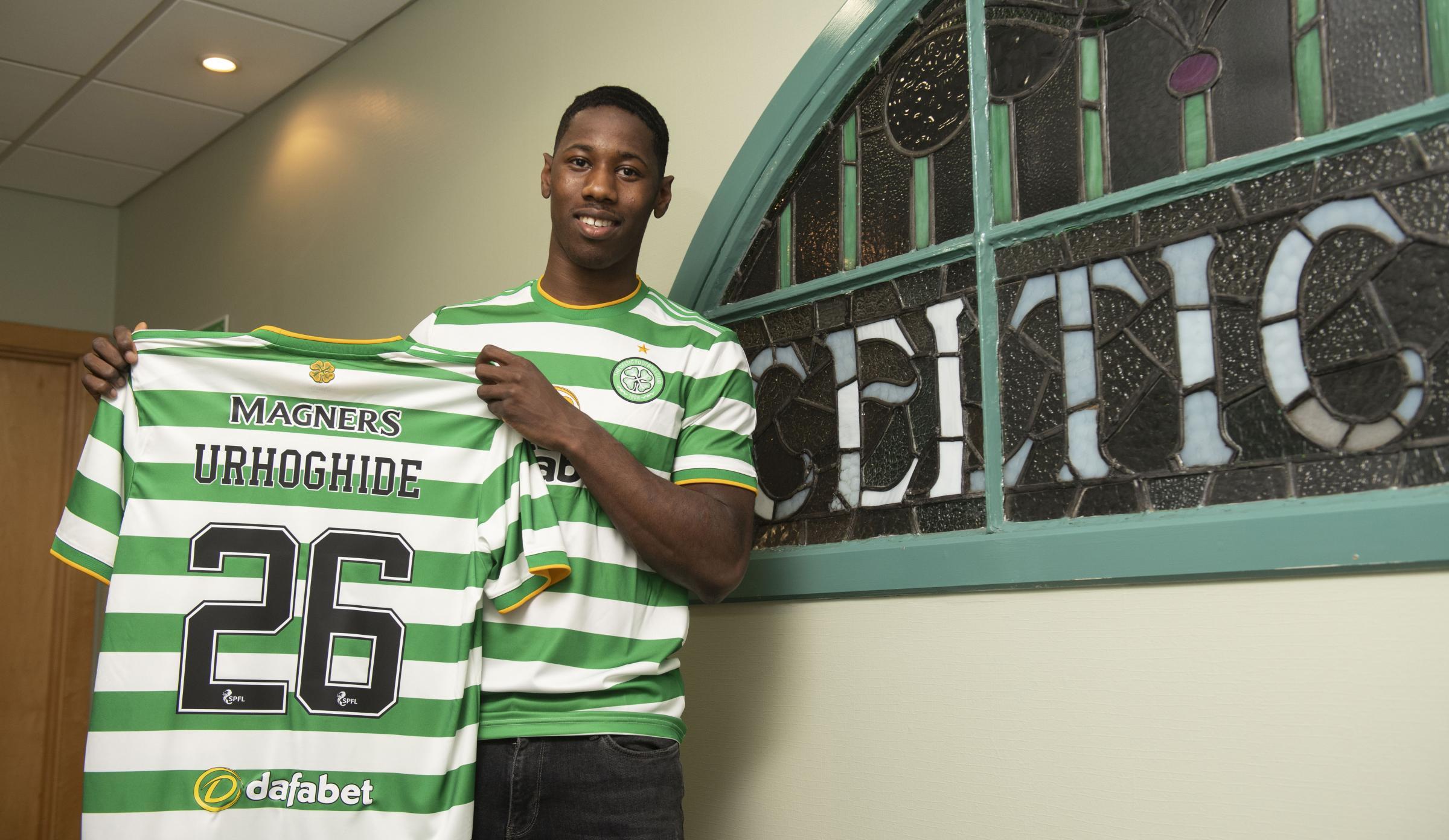 Osaze Urhoghide: I do like a tackle - I'll 'leave a mark' on Celtic's rivals early on this season