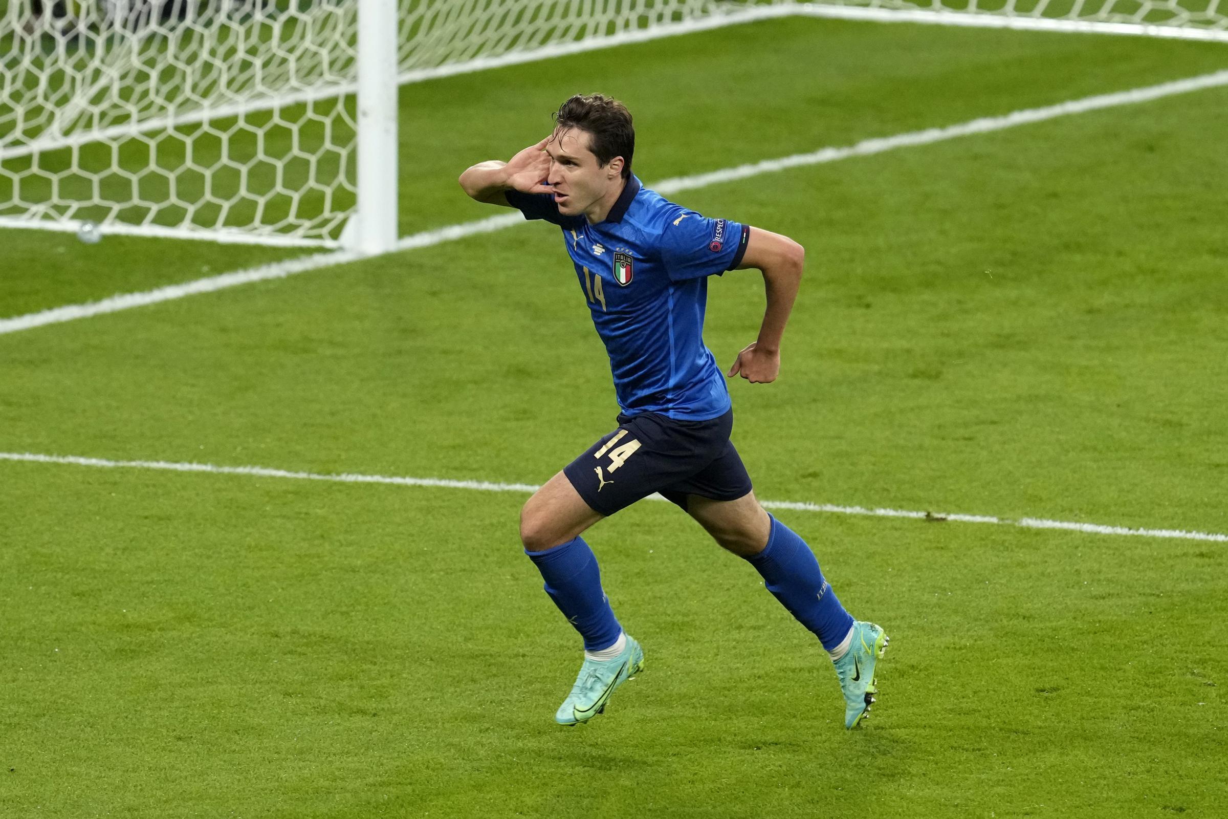 Italy 1 Spain 1 (Italy win 4-2 on penalties): Italians into the final as Alvaro Morata goes from villain to hero and back again
