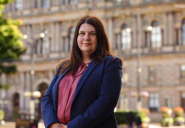 Glasgow Times: Susan Aitken.