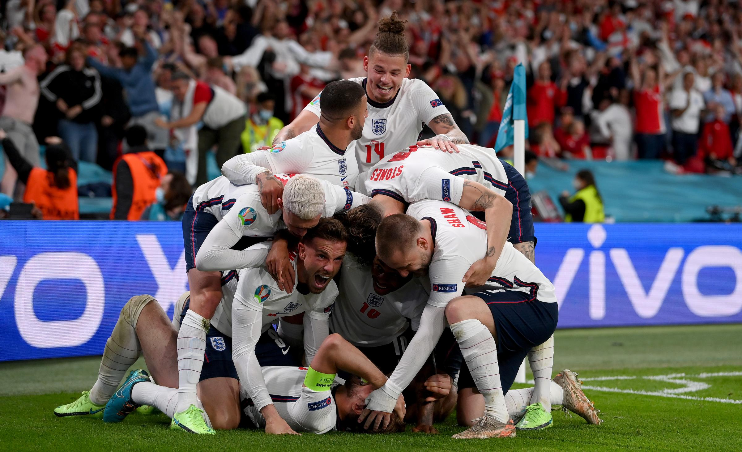 England 2 Denmark 1 (aet): Expectation meets reality at last as contentious penalty takes England to final
