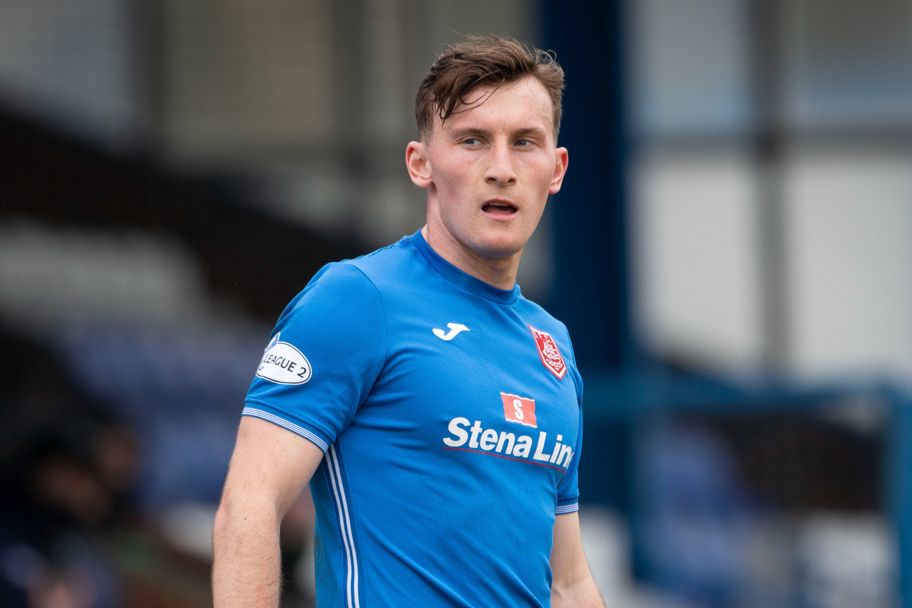 Queen of the South striker Ruari Paton relishes proving the doubters wrong