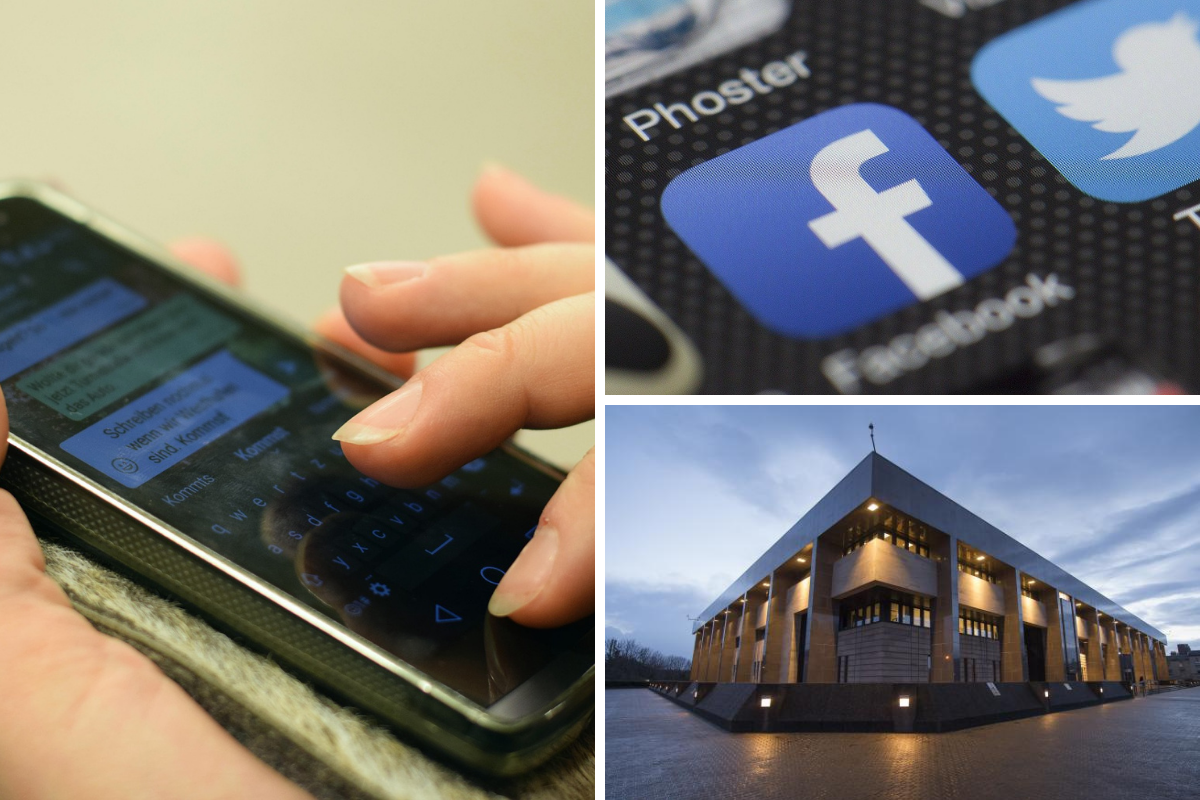 Glasgow mum sent threats and abuse to schoolgirl through Facebook Messenger
