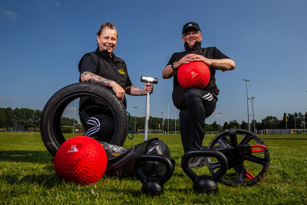 Glasgow personal trainers launch 'couch to bootcamp' class