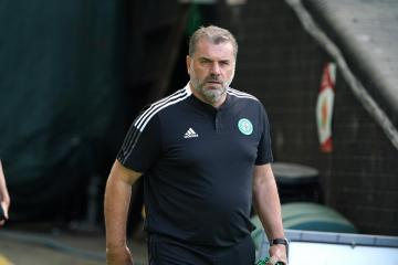 Celtic boss Ange Postecoglou hits back at reporter over 'catastrophic' question