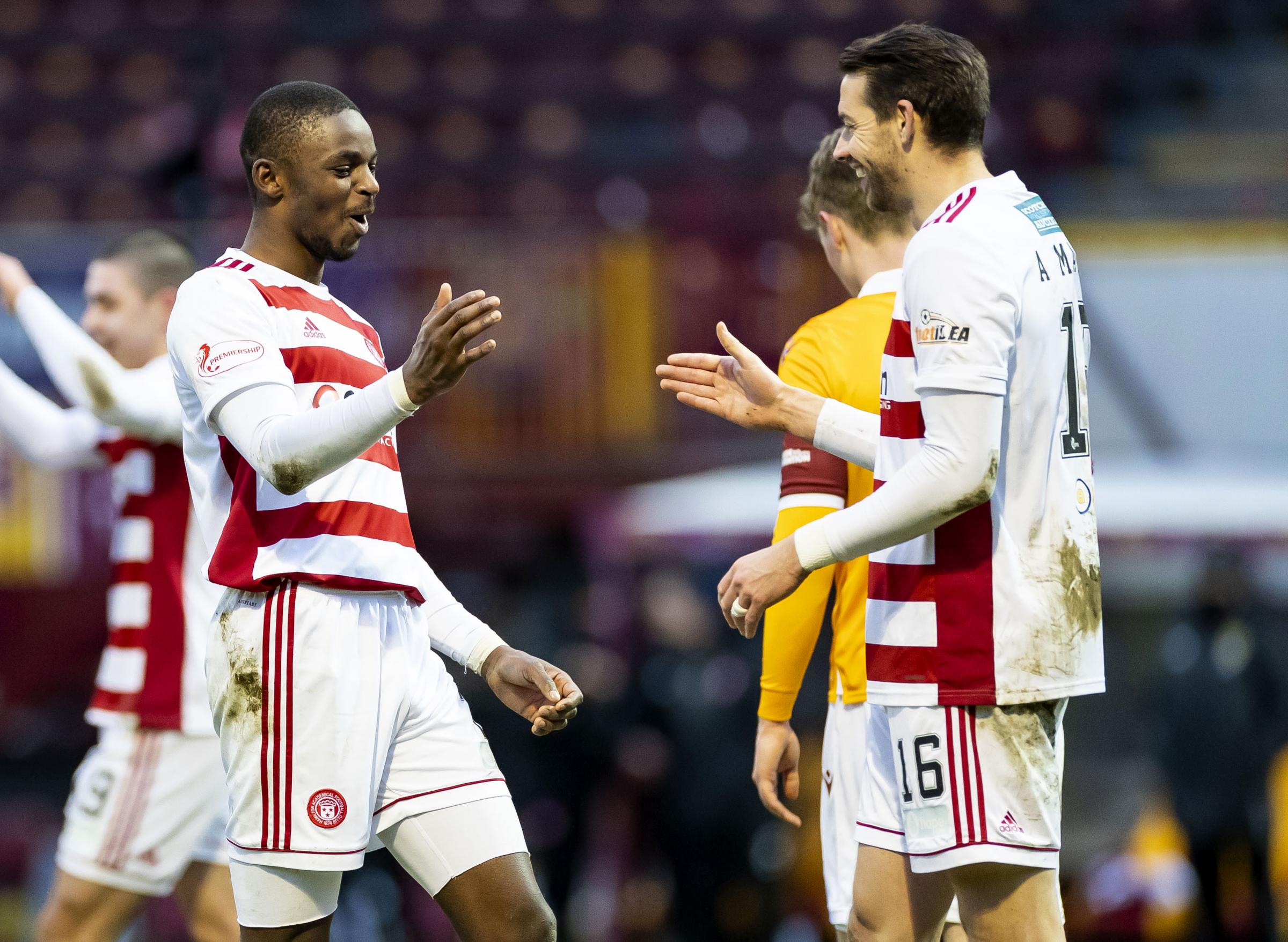 Mixed emotions for Hamilton boss Brian Rice as Hakeem Odoffin nears Rotherham switch