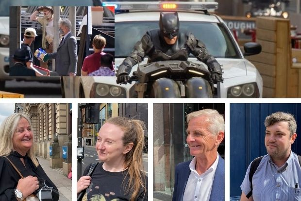 People in Glasgow reveal who they prefer - Batman or Indiana Jones
