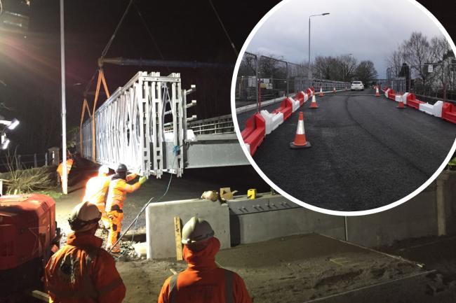 Old Kilpatrick: Bridge near Glasgow to close on Monday to traffic for around four months