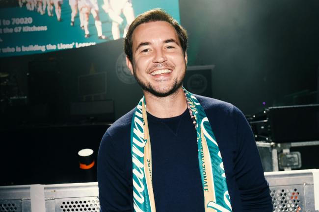 Line of Duty star Martin Compston calls out troll over sectarian tweet after Glasgow Celtic's defeat
