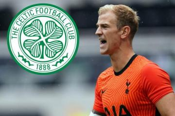 Joe Hart teases Celtic fans with subtle 'Let's go' message as he closes in on Parkhead switch