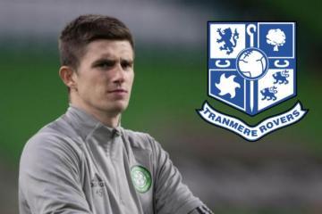 Celtic's Ross Doohan to complete Tranmere Rovers season-long loan as Joe Hart signs at Parkhead