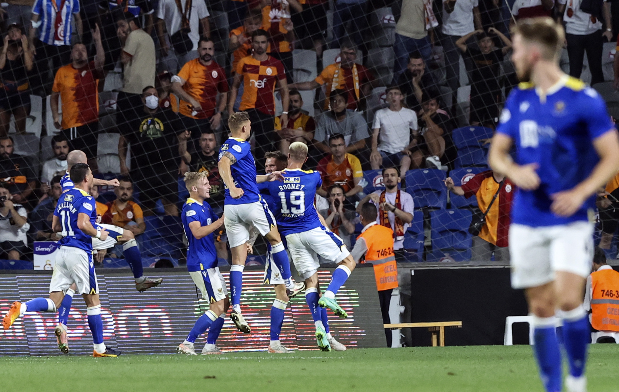 Galatasaray 1 St Johnstone 1: Callum Davidson's men continue to defy the odds with stunning display in Turkey