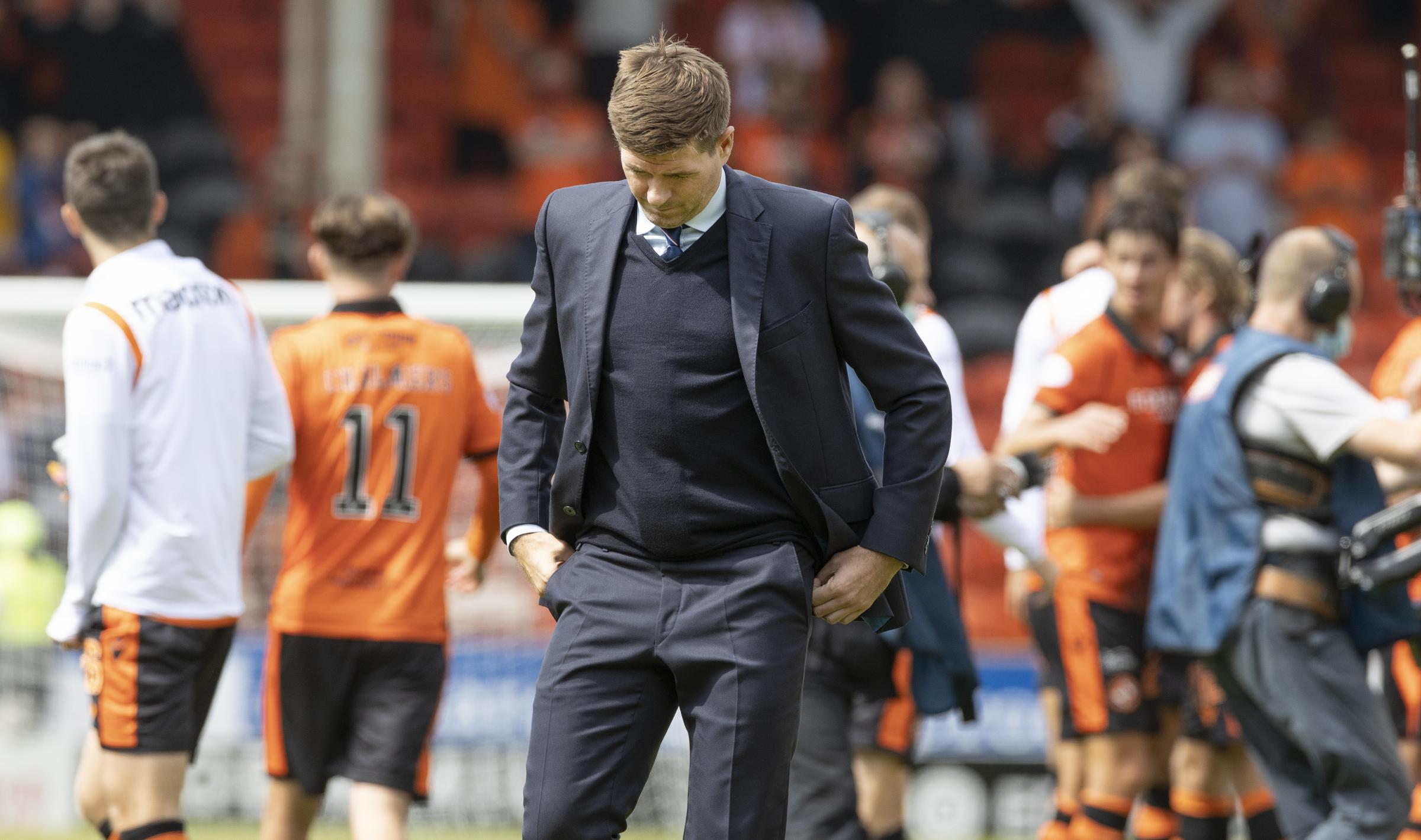 Rangers: Five talking points as Steven Gerrard's side suffer Premiership defeat ahead of Champions League clash