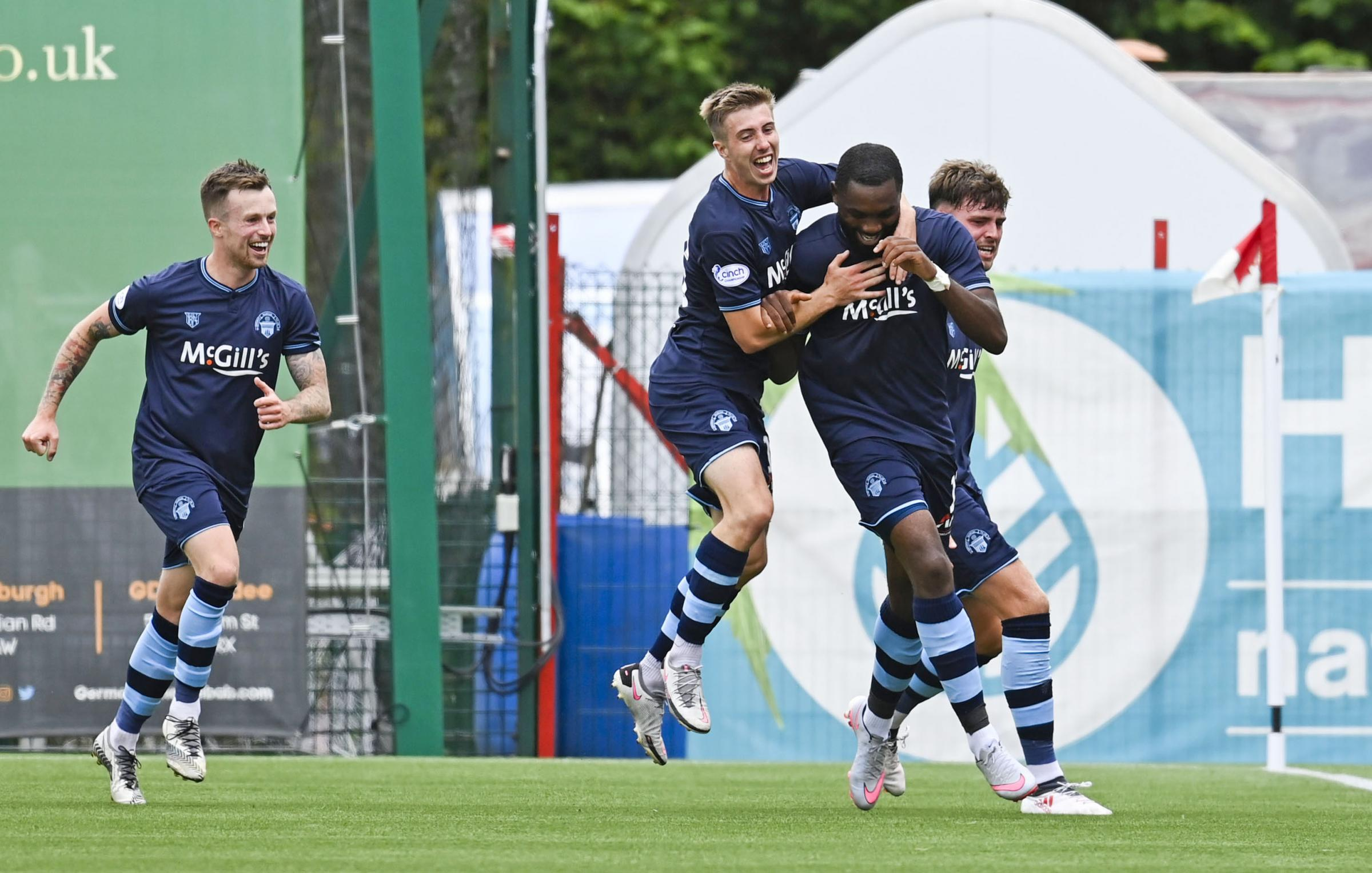 Hamilton 0-1 Morton: Gus MacPherson thrilled with 'fortuitous' win