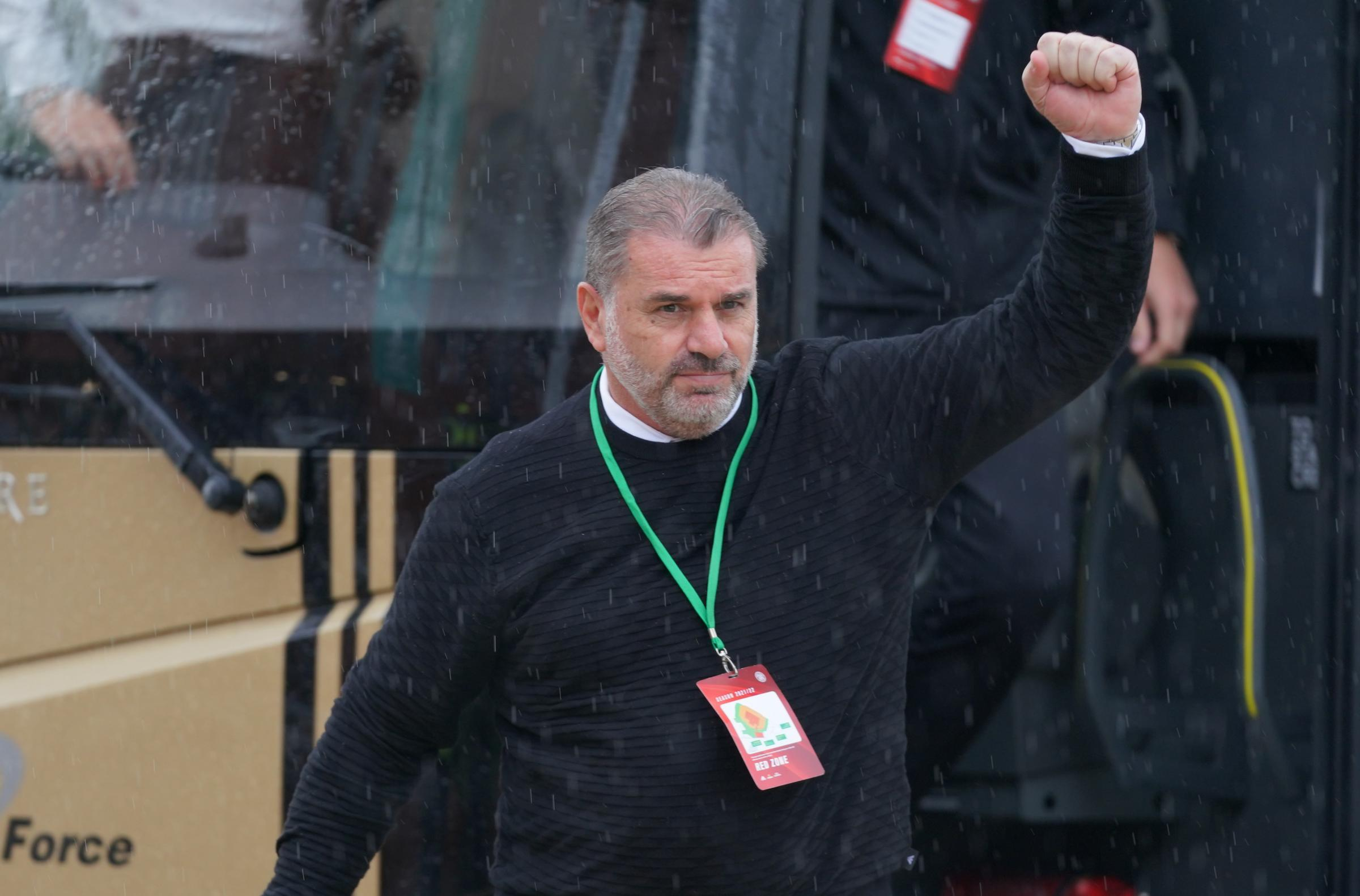 Celtic boss Ange Postecoglou hails Rangers' swift action against fans who racially abused Kyogo: 'Did the right thing'