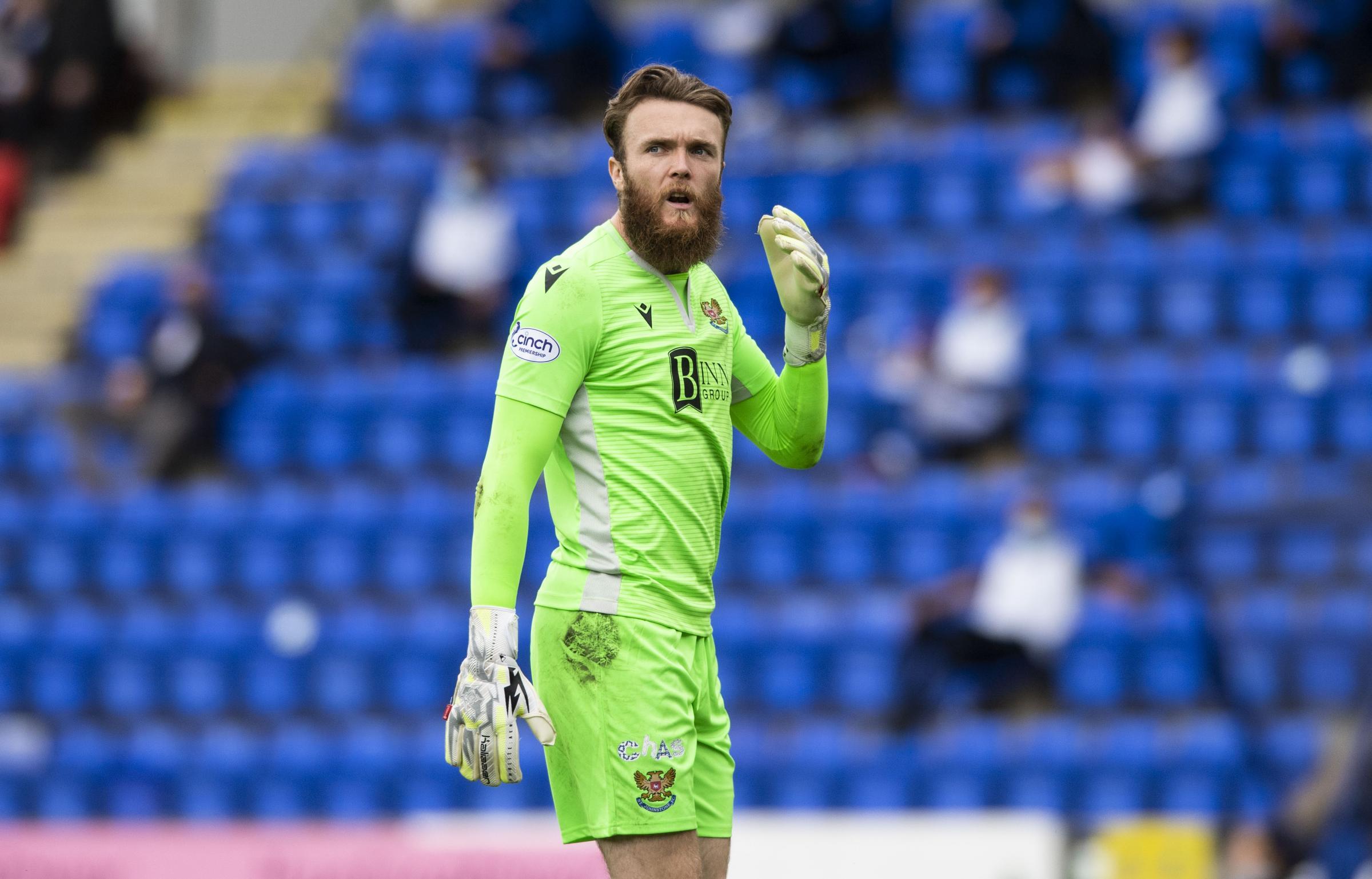 St Johnstone goalkeeper Zander Clark will have 'without doubt' caught the eye of Steve Clarke, says Callum Davidson