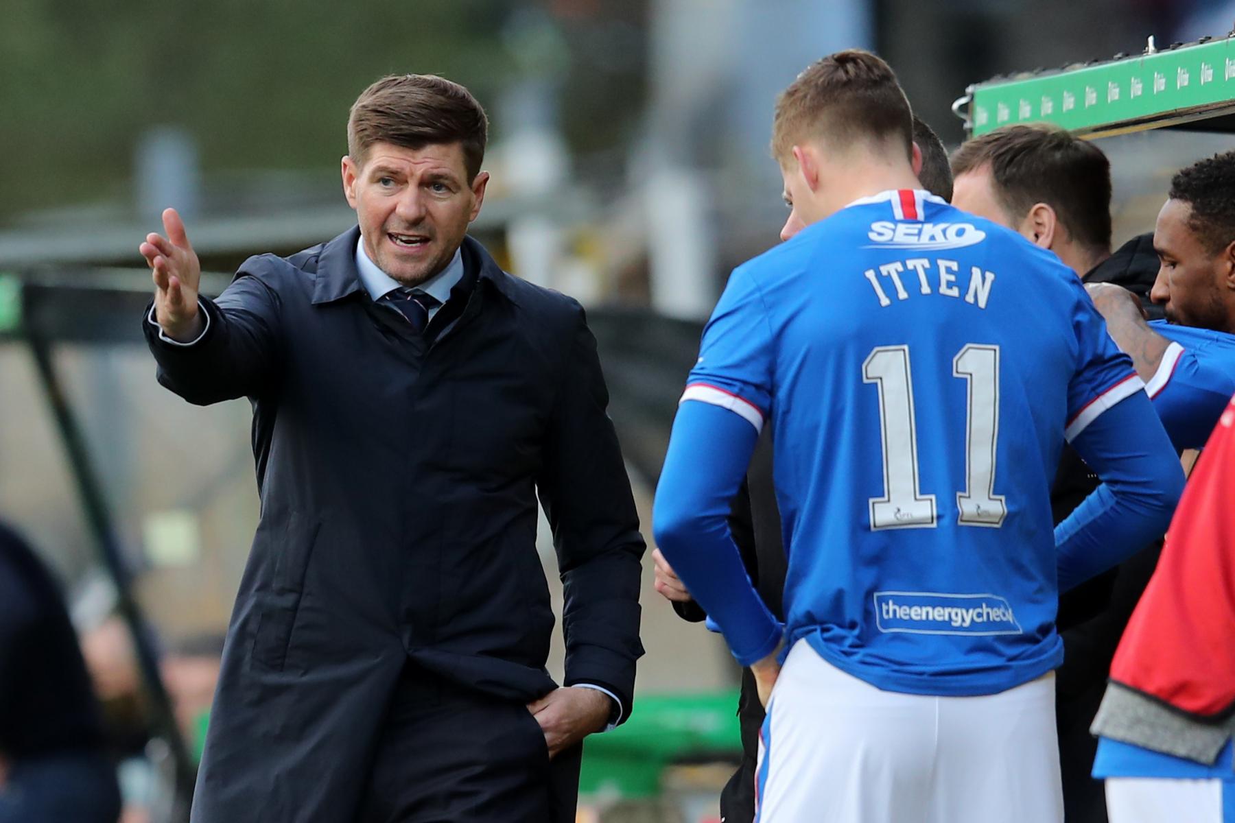 Rangers striker Cedric Itten in Celtic social media blunder after Dundee United defeat