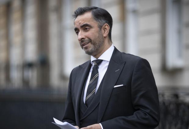Glasgow Times: Amir Anwar.