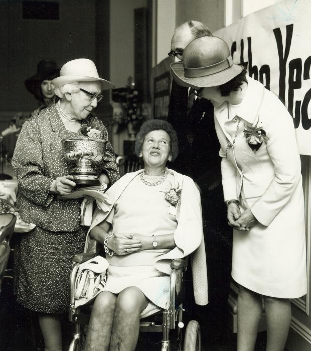 Glasgow Times: Jane Milligan at the 1973 SWOTY event.