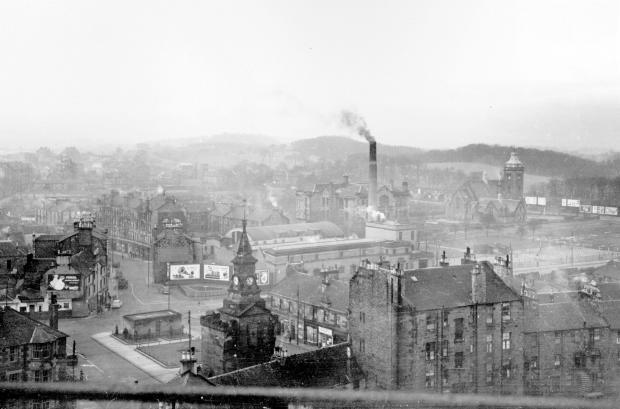 Glasgow Times: Pollokshaws 1958 Pic: Glasgow City Archives