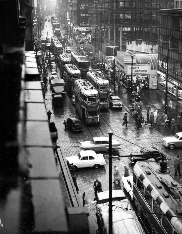 Glasgow Times: Trams in Glasgow.  Photo: NewsQuest