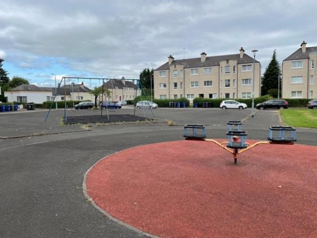 Glasgow Times: Tinto Square Play Park.