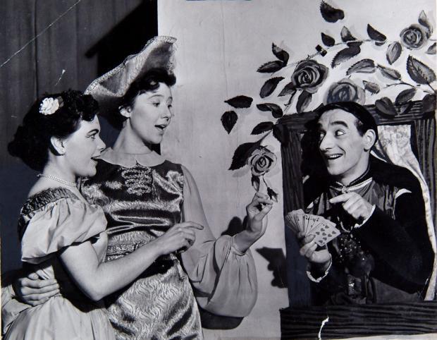 Glasgow Times: Larry Marshall, Helen Kent and Frances Sullivan.
