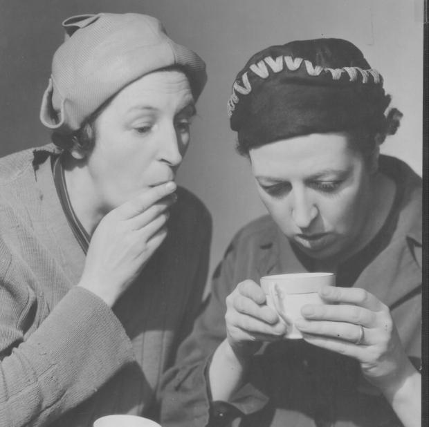 Glasgow Times: Sisters Elsie Waters and Doris Waters' cousin Charlie's Double Act was very popular in the 1930s.