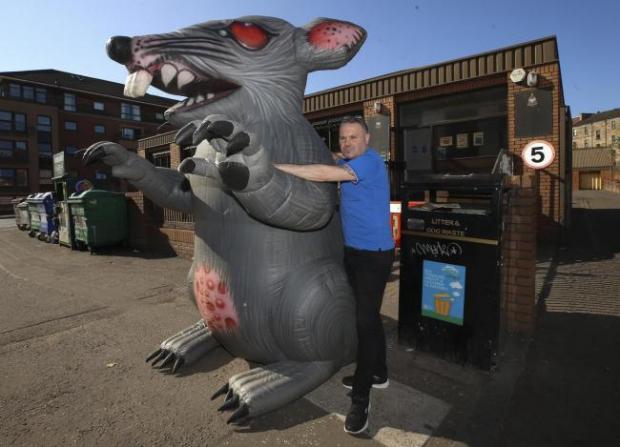 Glasgow Times: Chris Mitchell.