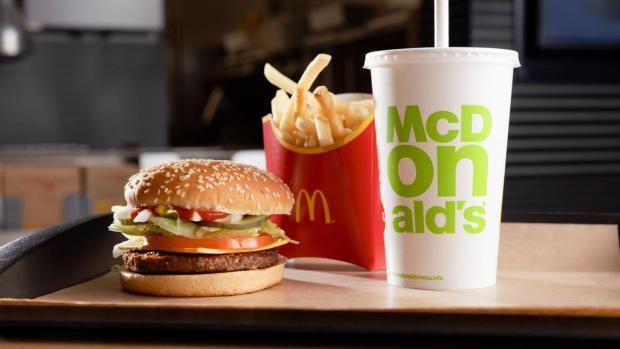 Glasgow Times: MacPlant Burger (McDonald's / PA)