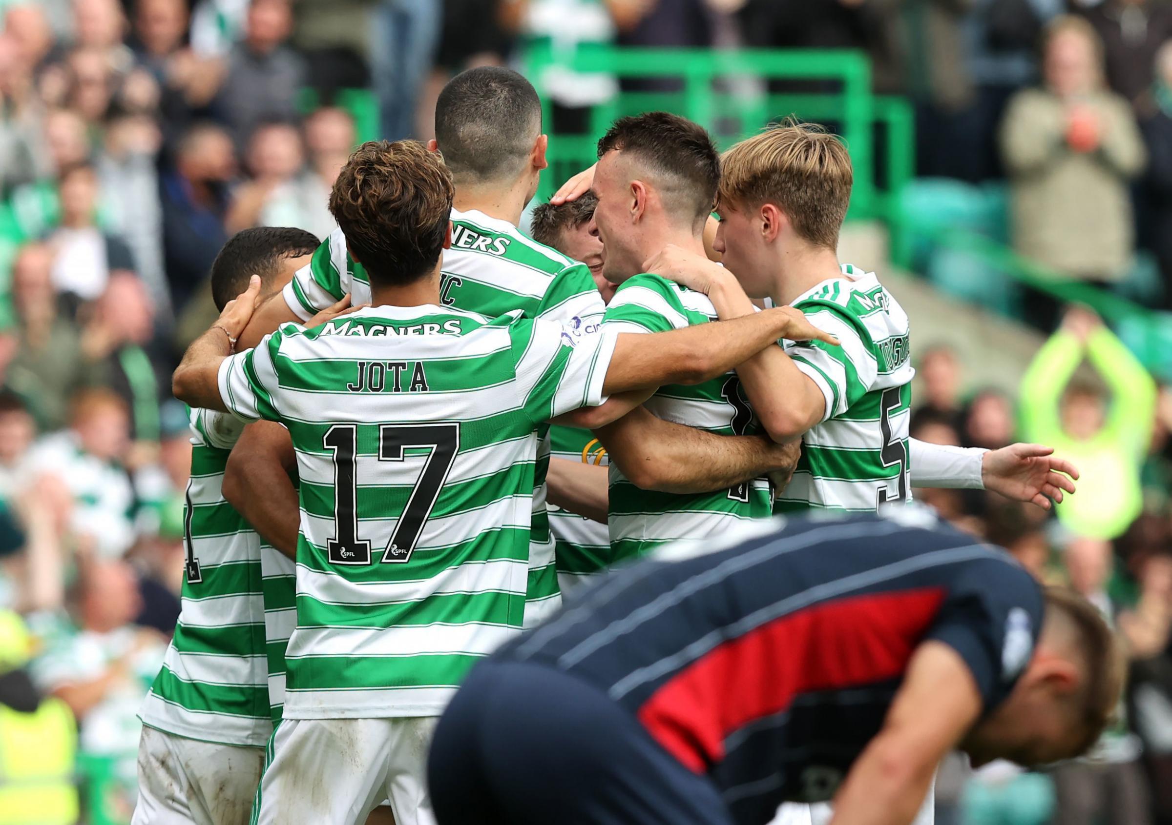 Celtic 3 Ross County 0: Five things we learned as debutants shine for Celtic