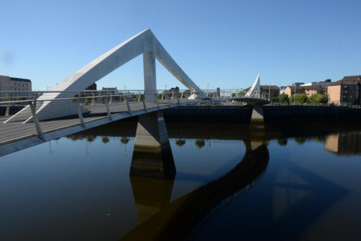 Tradeston Bridge: Here is how long the Squiggly Bridge will be closed to pedestrians