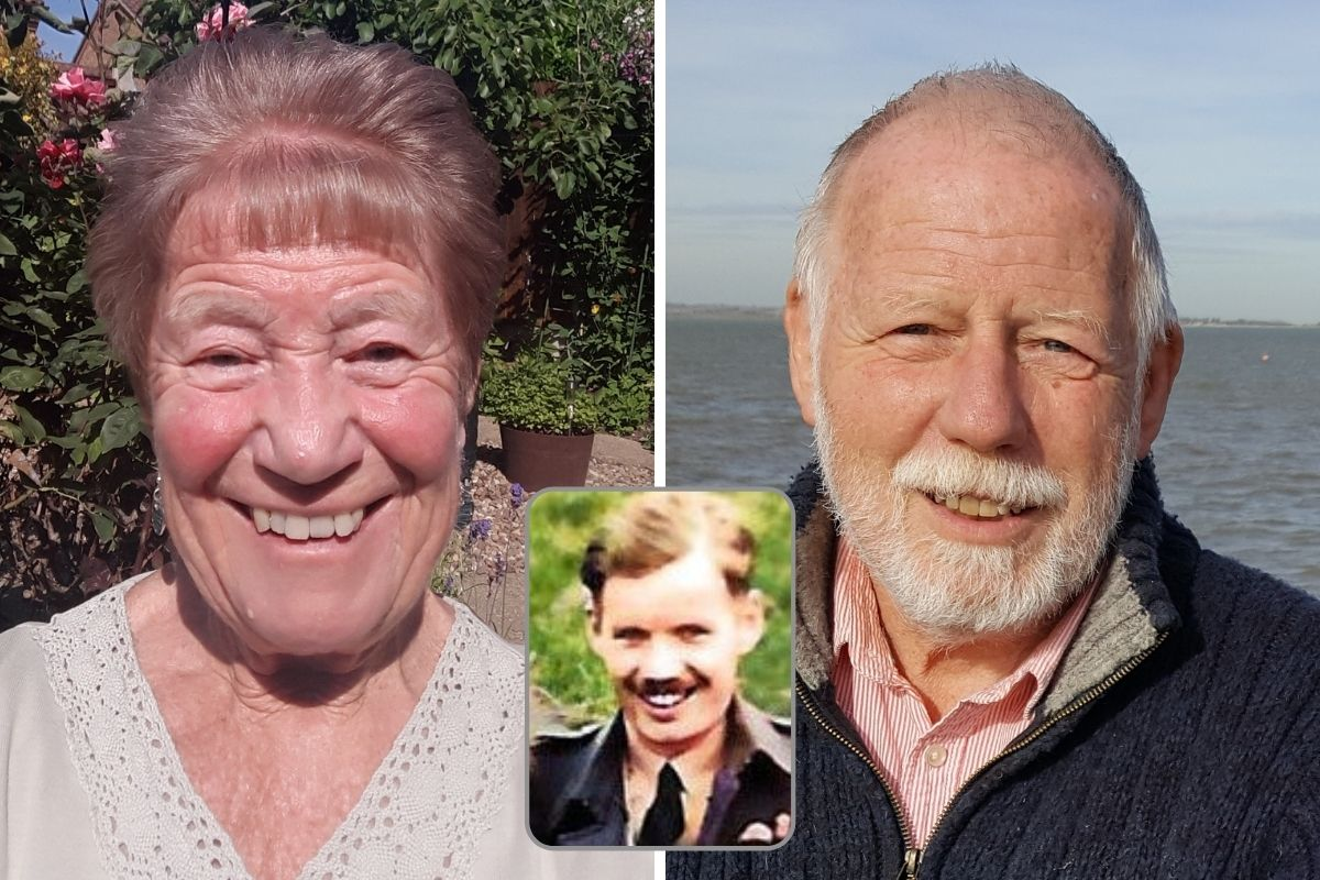 Long lost siblings meet for the first time in search for missing Paisley dad