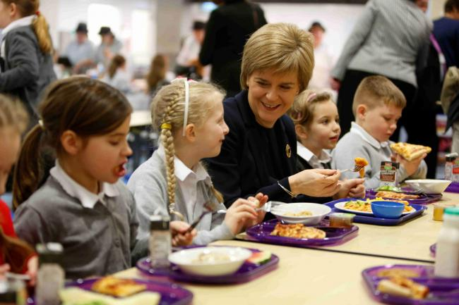 Food for Life Served Here: Glasgow enjoys taste of success with school food gong