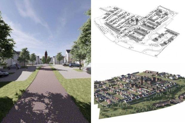 Ruchill Hospital: Parking spaces at former hospital site to be reduced to make way for allotments