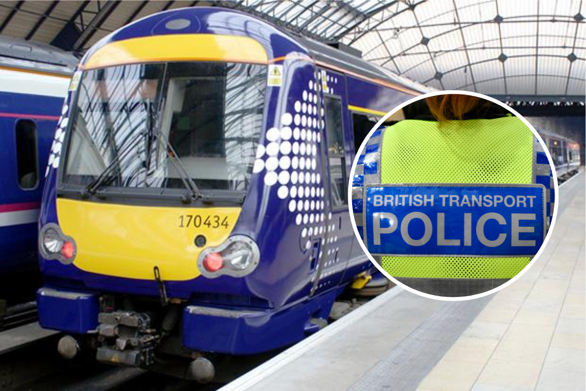 Man attacked by cruel thugs on busy train from Glasgow Queen Street to Easterhouse