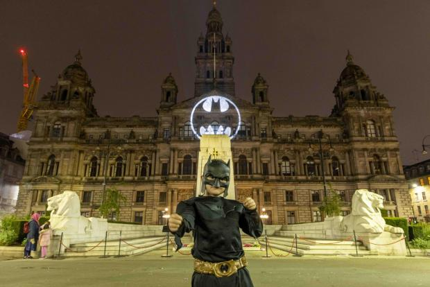 Glasgow Times: The famous beat signal was presented at Glasgow City Chambers.