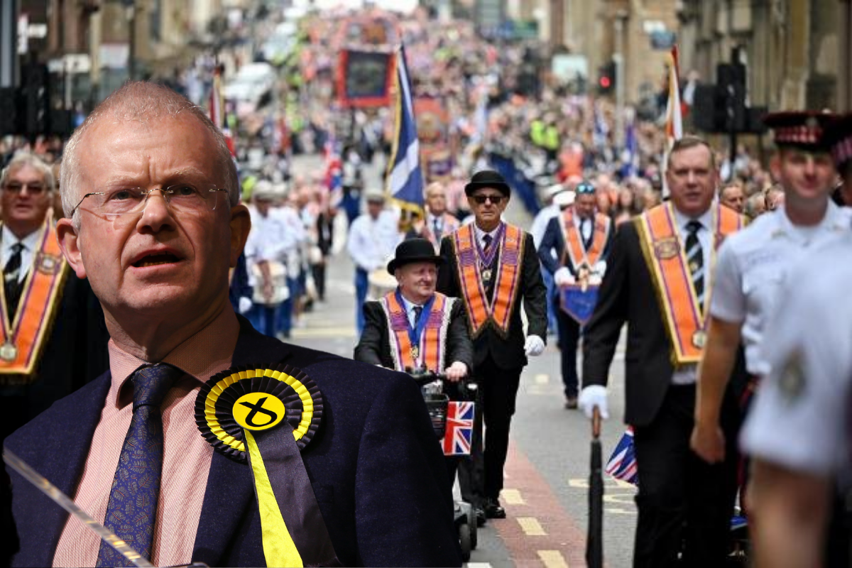 MSP calls for orange walk to be BANNED under hate crime act