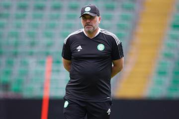Ange Postecoglou vows to block out the noise during Celtic rebuild