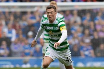 Callum McGregor to miss next two matches as Celtic captain targets Bayer Leverkusen return
