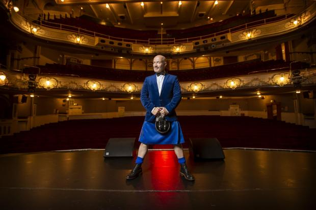 Glasgow Times: Comedian Craig Hill's picture is in Glasgow's Pavilion Theater where he will appear in his pumped on Friday, October 1!  Show ... Photo by Colin Marines - September 22, 2021.
